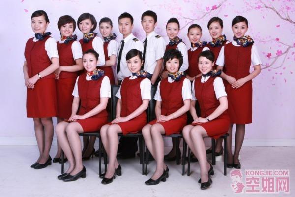 国航空姐示范组--金凤3组~!