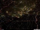 天上拍的夜景(你们猜猜是哪个城市啊)