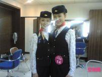 第一次穿制服